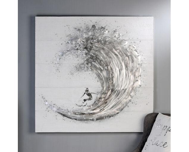 """Fali dekoráció Olajfestmény """"Surf"""""""