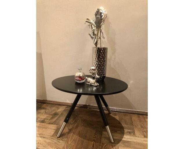 Beem asztalka  - Fekete 64x50 cm