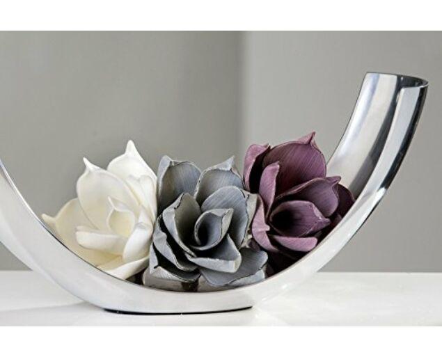Dekorvirág -Fehér színben