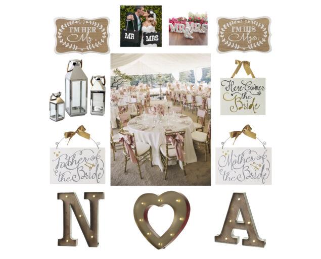 """""""NAGY NAP CSOMAG"""" - esküvői dekoráció bérlésre"""