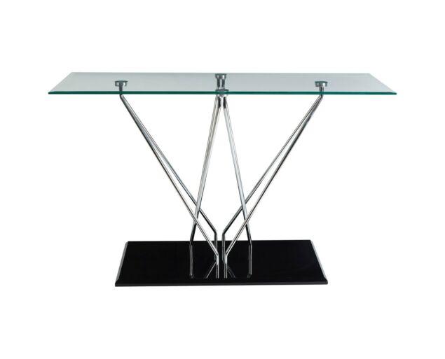 Halo konzolasztal - Üveg