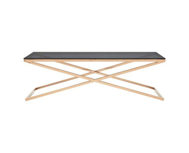 Criss Cross dohányzóasztal - Üveg