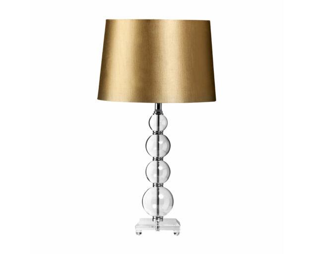 Arany-üveg asztali lámpa  - KÉSZLETEN!