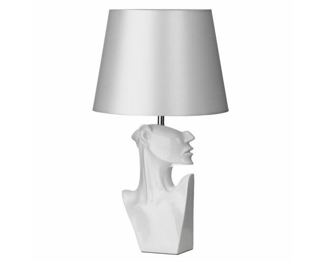 Díva asztali lámpa  Fehér színben