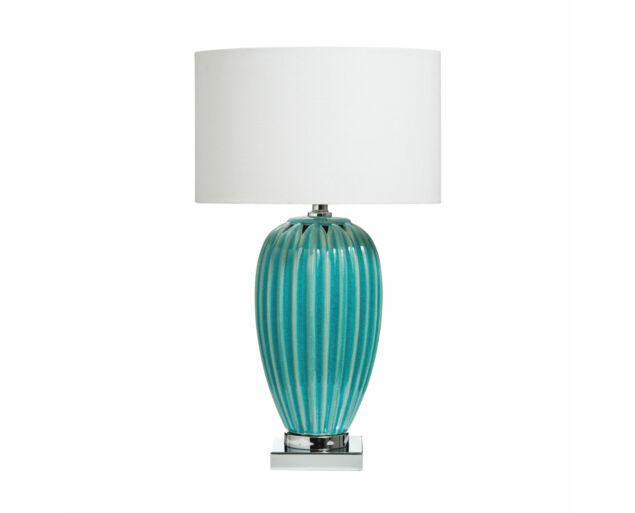 Türkiz asztali lámpa