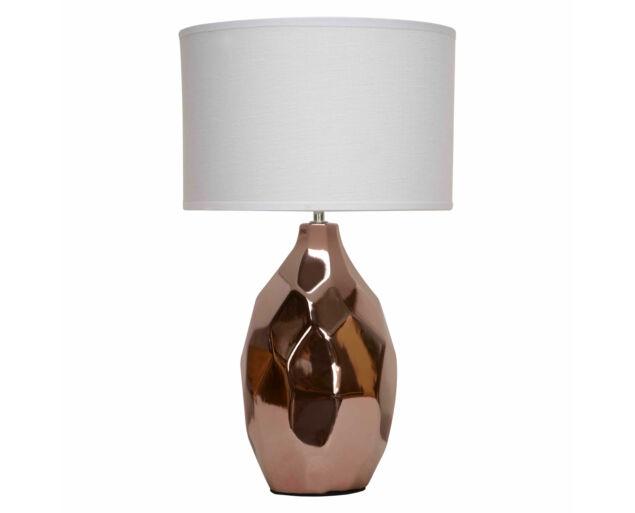 Cubic Rosé asztali lámpa Bézs búrával