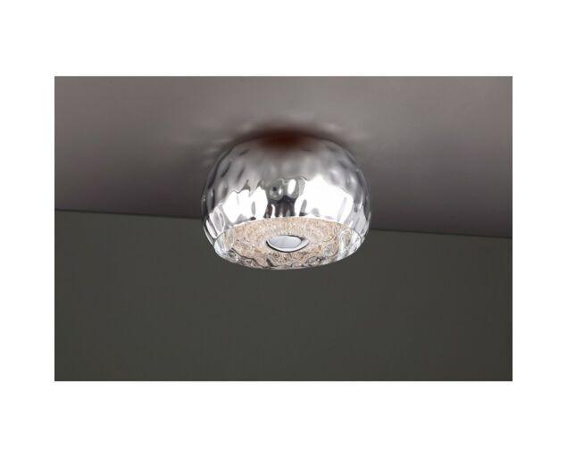 Croco Silver Mennyezeti lámpa (40 cm-es)