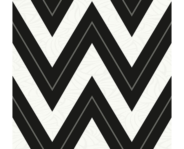Black and White - Chevron with Skin Texture -21006