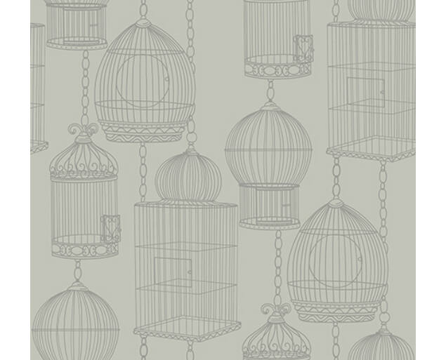 Black and White - Bird Cages -21502