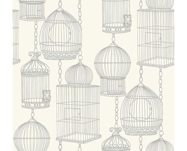 Black and White - Bird Cages -21507