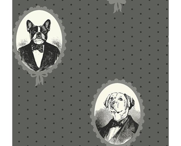 Black and White - Dog Portrait Cameos -21800