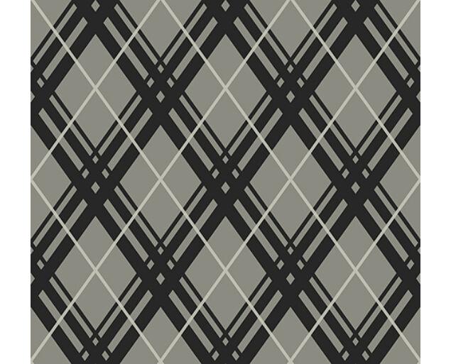 Black and White - Bias Plaid -22000