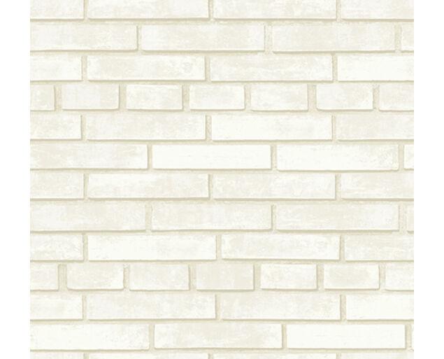 White on White - Brick wall -31003