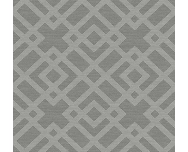 White on White -Grasscloth Lattice -31703