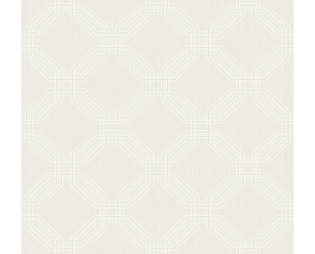White on White -Interlocking Octagons  -32303
