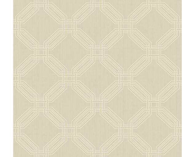 White on White -Interlocking Octagons  -32308