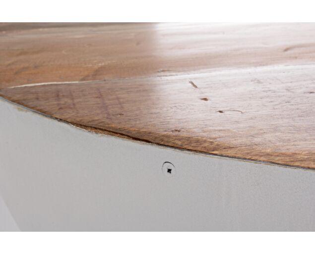 Manchester dohányzóasztal fehér- 90x90 cm