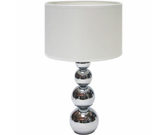 """""""Touch"""" Fehér Ezüst asztali lámpa"""