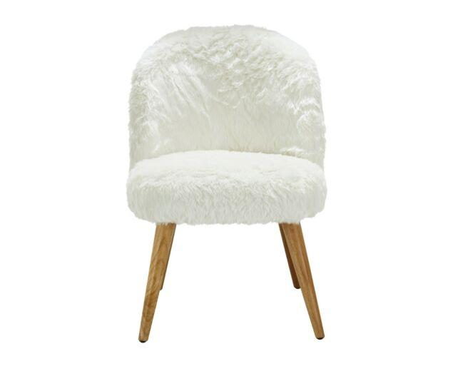 Fluffy Fotel - Fehér
