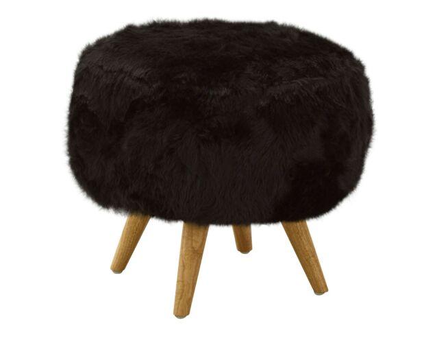 Fluffy Puff - Fekete