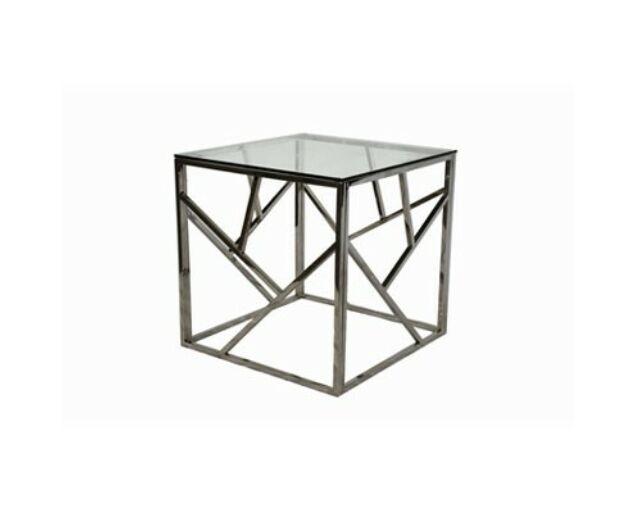 Allure Asztalka 55 cm Ezüst