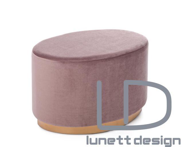 Eliza puff - rózsaszín