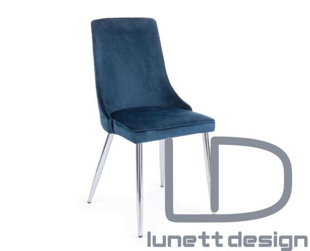 Amelia szék_kék