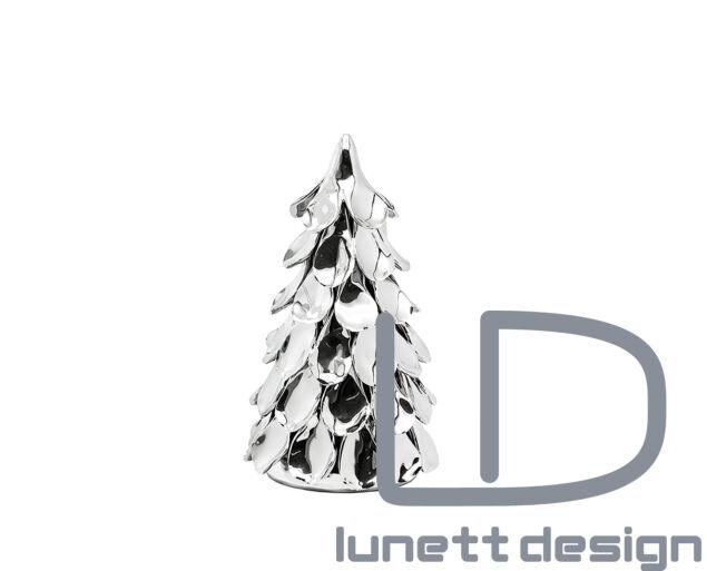 Juno ezüst fenyőfa dísz - 21 cm