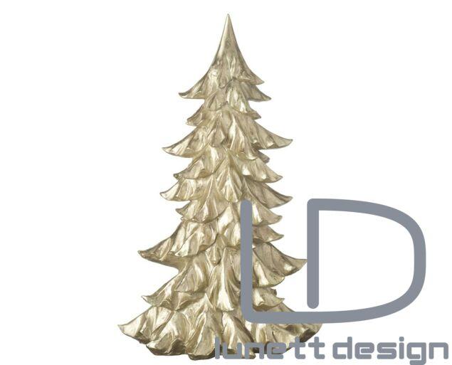 Arany karácsonyfa dísz - 50 cm