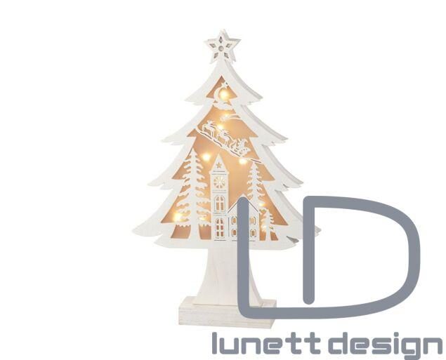 Karácsonyi világító fa dísz