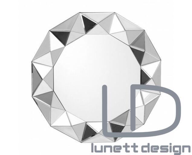 Silver octagonal tükör   - Készleten!